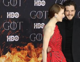 rose-leslie-and-kit-harington-attend-the-season-8-premiere