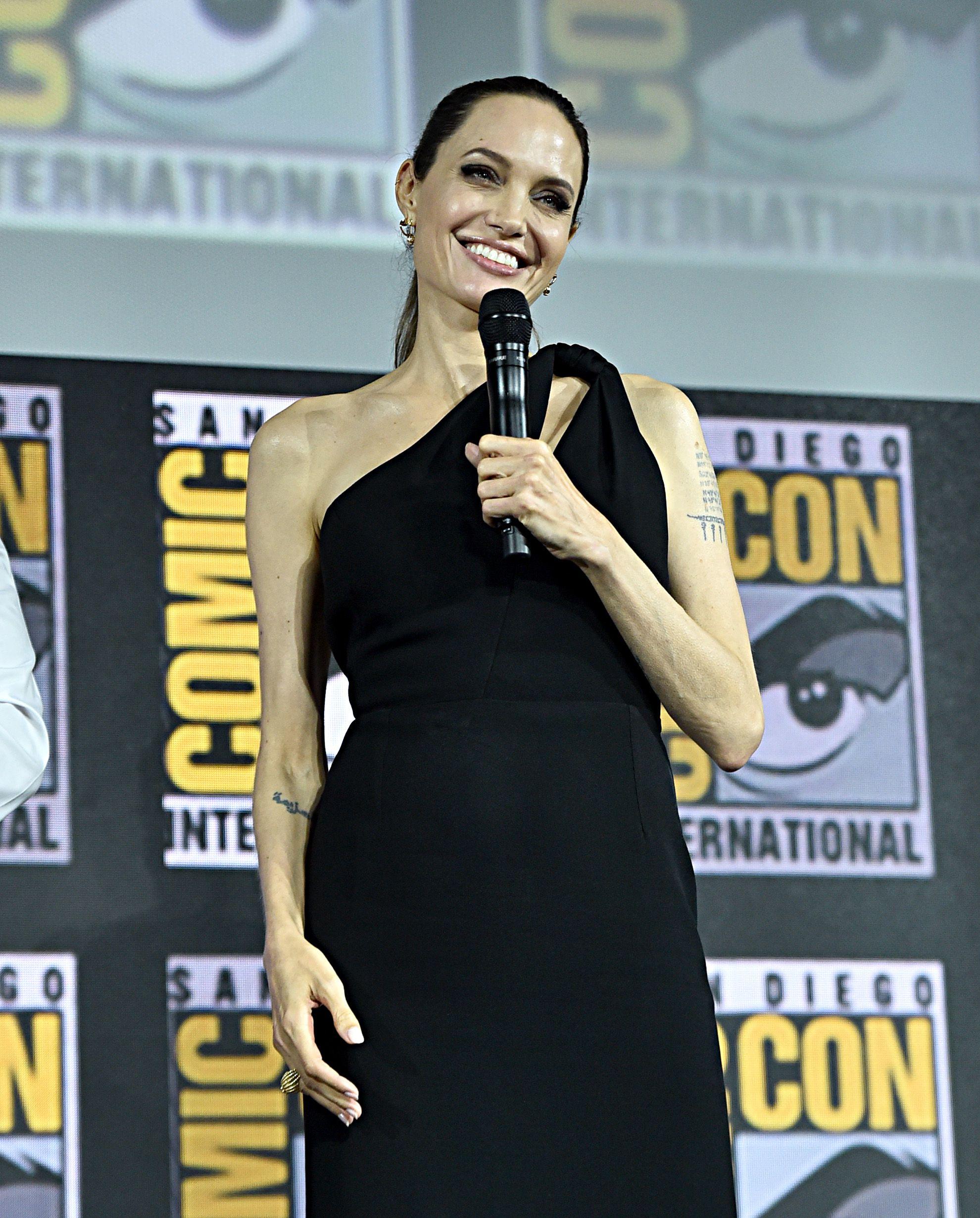 Angelina Jolie Confirms Marvel Superhero Role at Comic Con ...